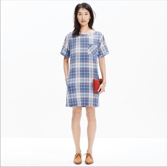 Madewell Dresses & Skirts - Madewell Pocketed Shift Dress